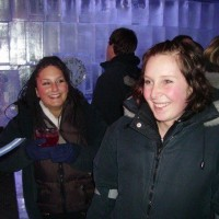 Good times at the Ice Bar, Steamer Wharf