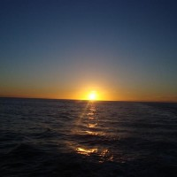 Sunset on Doubtful Sound Overnight Cruise