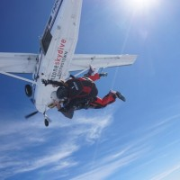 Skydiving over Queenstown!